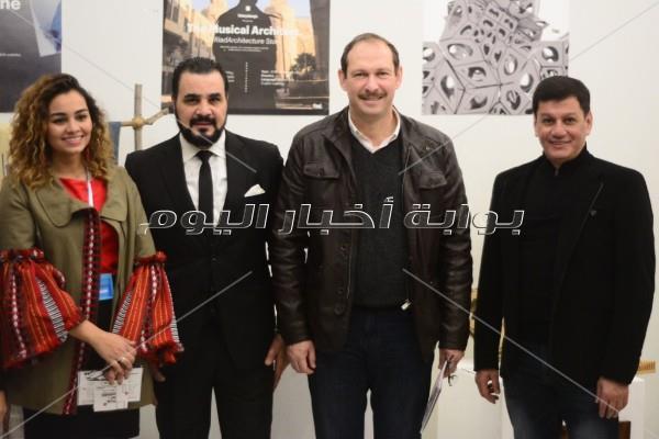 صور  مجدي كامل وخالد محمود يشاركان بمهرجان التصميم في «زاوية»