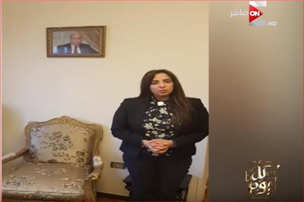 المستشارة مروة هشام بركات ابنة المستشار النائب العام الراحل هشام بركات