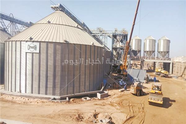 التوسع في صوامع القمح