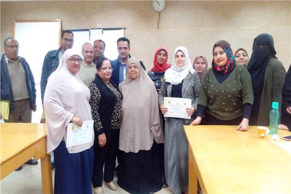 ختام أعمال الدورة التدريبية في التقنيات الحديثة لوسائل تنظيم اﻷسرة بمستشفي طور سيناء