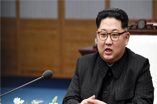 زعيم كوريا الشمالية كيم جونج