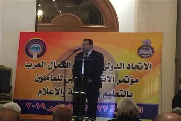 مجدي البدوي نائب رئيس اتحاد عمال مصر