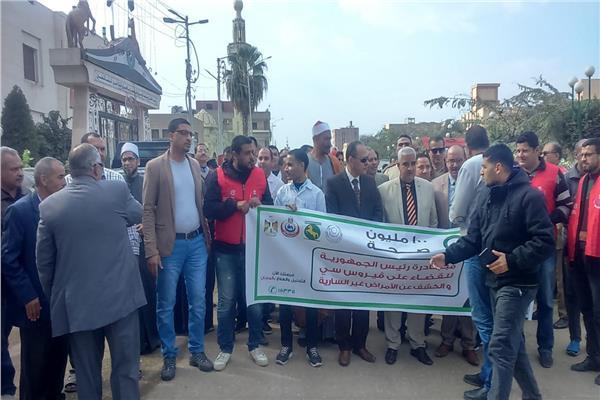 استعدت محافظة الشرقية لحملة ال١٠٠مليون صحة