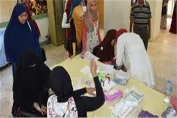 «صحة شمال سيناء» توقع الكشف الطبي علىطلاب مدارس التربية الخاصة
