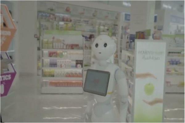 """""""روبوت"""" صيدلى يصرف الأدوية فى السعودية"""