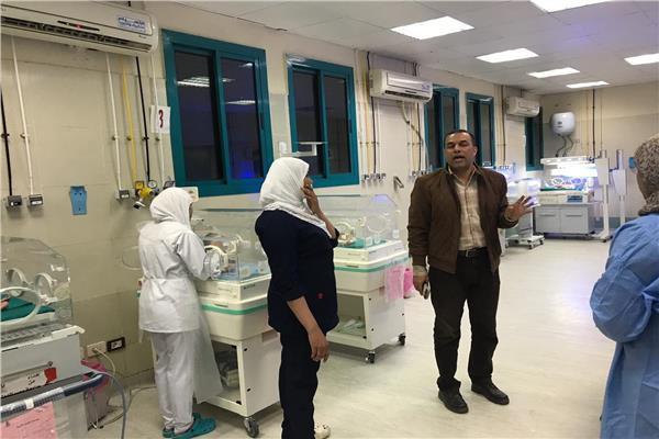 إضافة 47 حضانةجديدة بمستشفى الأقصر العام ومديرية الصحة