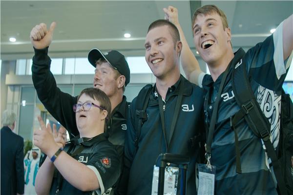 الفريق النيوزيلندي أول الواصلين للإمارات للمشاركة بالألعاب العالمية للأولمبياد الخاص