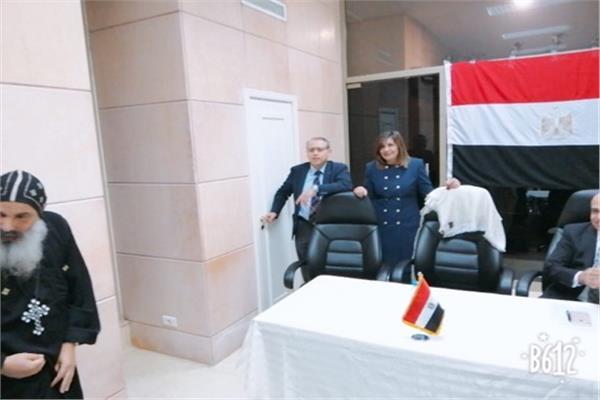 وزيرة الهجرة: الجالية المصرية بلبنان هم خط الدفاع الأول للوطن