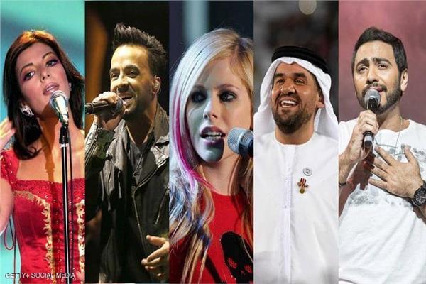 3 نجوم عرب يشاركون في غناء النشيد الرسمي لـ«الأولمبياد الخاص»