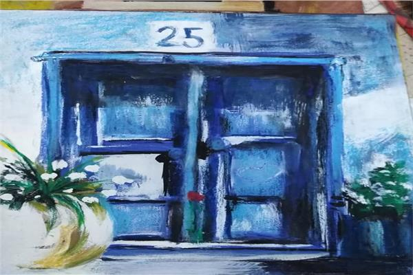 افتتاح معرض ونس للفنانة علا المحمدى بالأوبرا