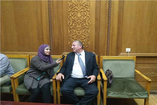 عبدالفتاح فكري رئيس النقابة العامة للعاملين بسكك حديد مصر يتحدث لمحررة «بوابة أخبار اليوم»