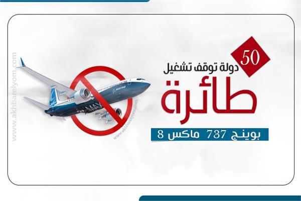 50 دولة تمنع طائرات بوينج «ماكس»