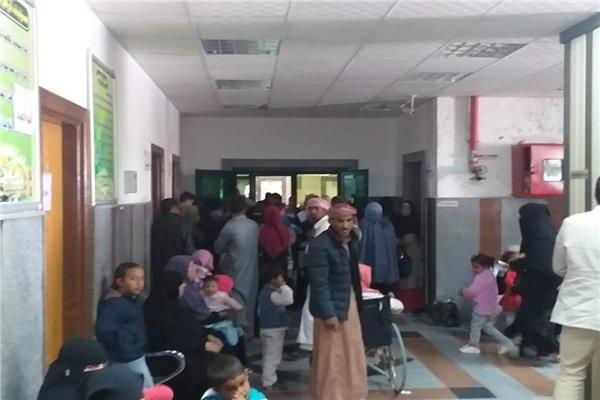 إقبال كبير في ختام اعمال القافلة الطبيه بجنوب سيناء