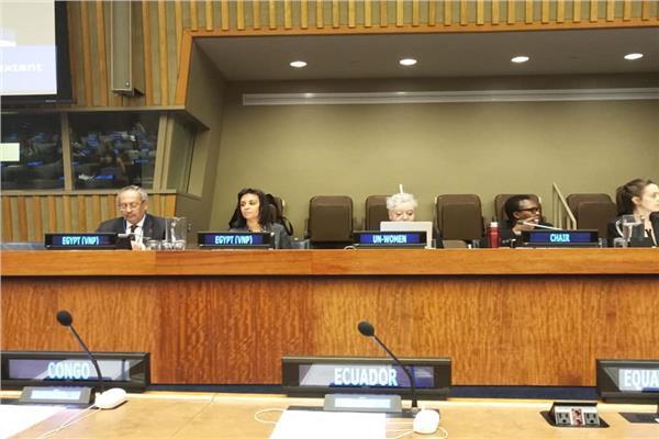 الامم المتحدة تقدم التحية لمصرو رئيس الجمهورية في تخصيص عام للمرأة