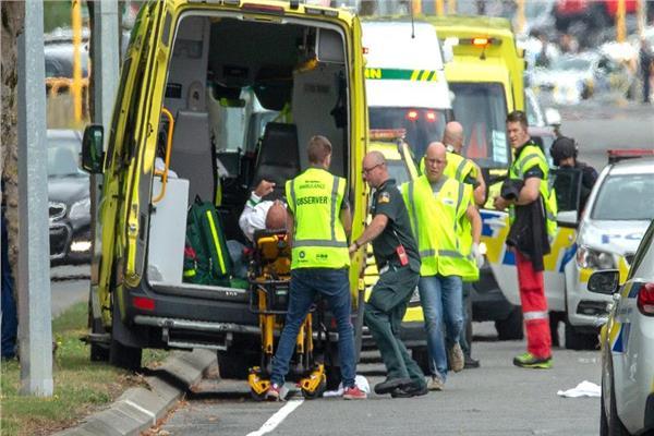 ضحايا الهجوم الارهابي