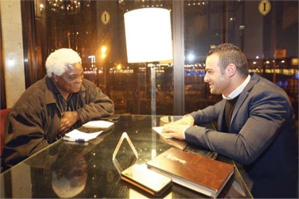 جان بيير مباسي خلال الحوار