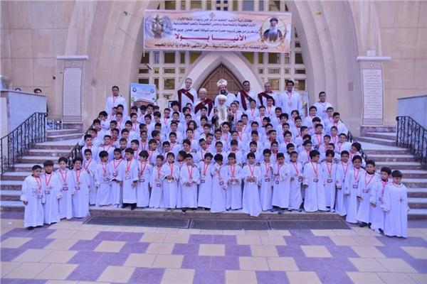 ١١٣ شمامسة جدد لكنيسة شهداء طنطا