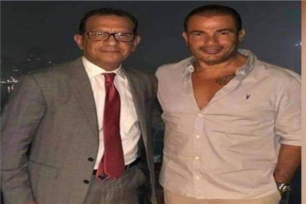 عمرو دياب ومحاميه