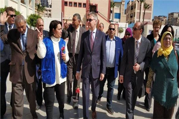 السفير الكندي بمصر جيس داتون