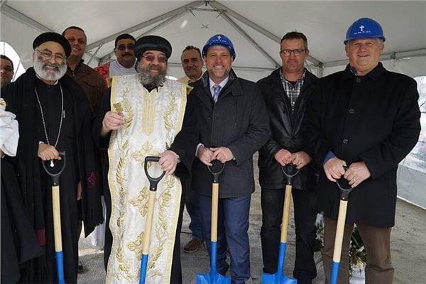 وضع حجر أساس كنيسة جديدة بسانت كاثرين كندا