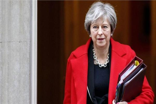 ئيسة الوزراء البريطانية تيريزا ماي