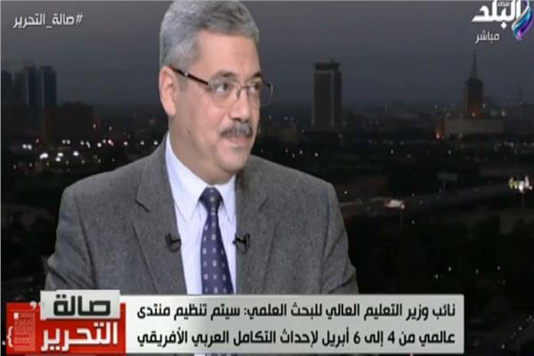 د.ياسر رفعت - نائب وزير التعليم لشئون البحث العلمي