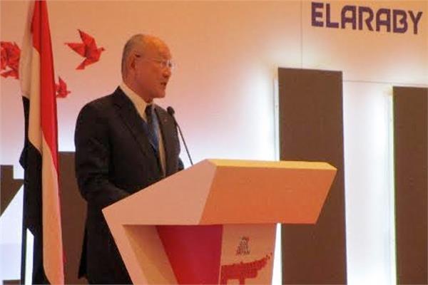 سفير اليابان لدي مصر ماساكي نوكي