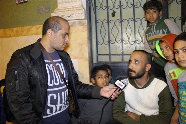 محرر بوابة أخبار اليوم مع شهود العيان في مجزرة أوسيم