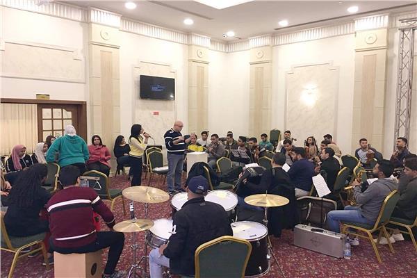 أوركسترا الشباب والرياضة تجربة رائدة فى مجال الموسيقى