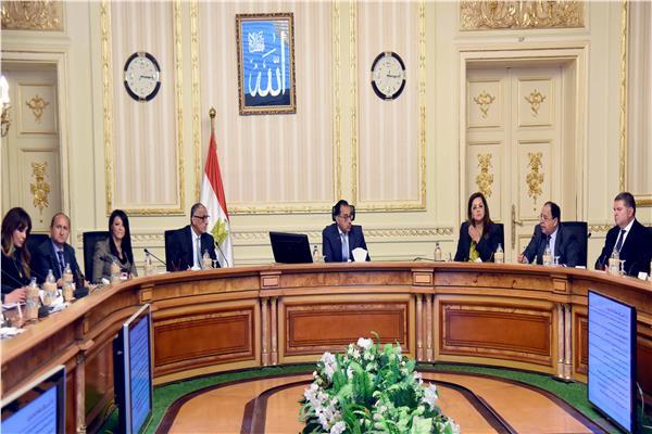 اجتماع اللجنة الوزارية الاقتصادية_ تصوير: أشرف شحاتة