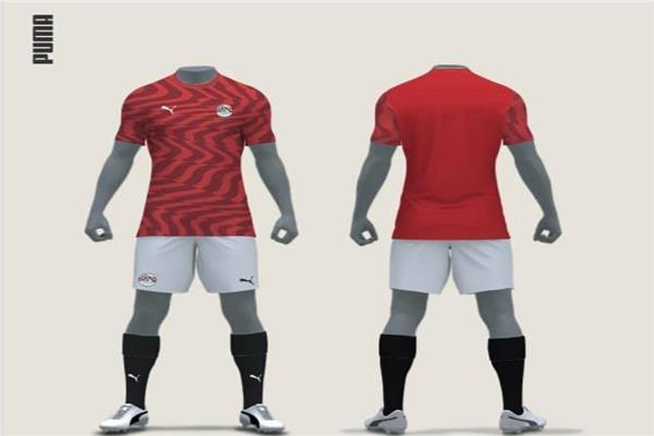التصميم الجديد لقميص منتخب مصر
