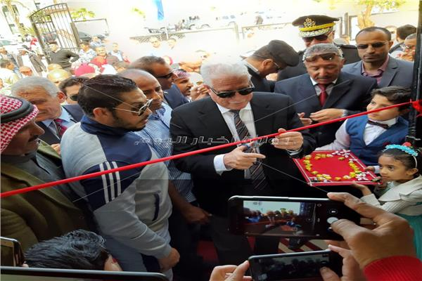 محافظ جنوب سيناء يفتتح مشروعات بمدينة نويبع بتكلفة 355 مليون جنيه