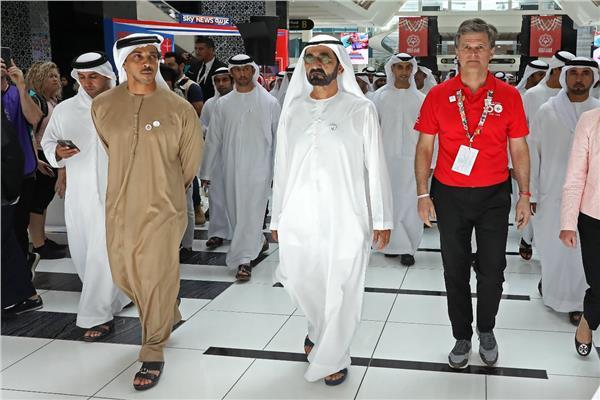 سمو الشيخ محمد بن راشد يزور فعاليات الأولمبياد الخاص أبوظبي 2019