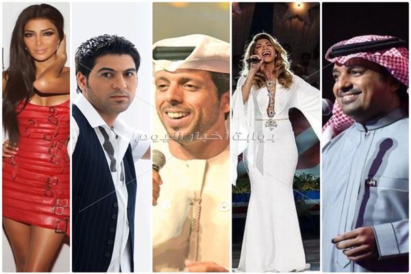 ألمع نجوم الغناء العربى والعالمى في حفل ختام الأولمبياد الخاص بأبو ظبى