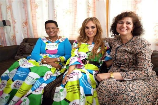 سفيرة مصر فى بوروندي