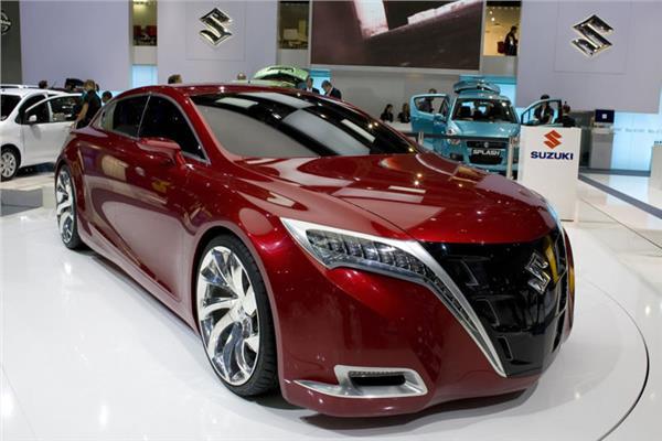 سيارات  شركة زوزوكي الهجينة الجديدة