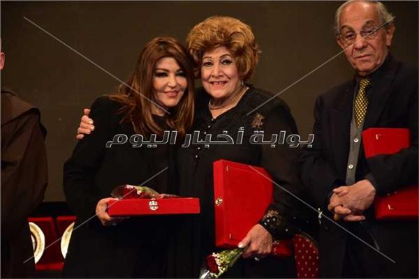 سميرة سعيد خلال تكريمها