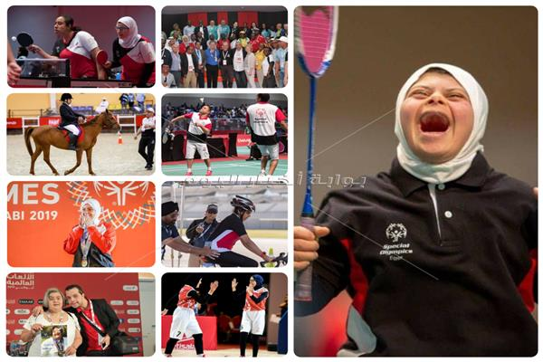 بالأسماء حصاد بعثة الفراعنة بالألعاب العالمية للاولمبياد الخاص بأبو ظبى