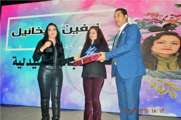 جانب من احتفالية معهد ناصر بعيد الأم
