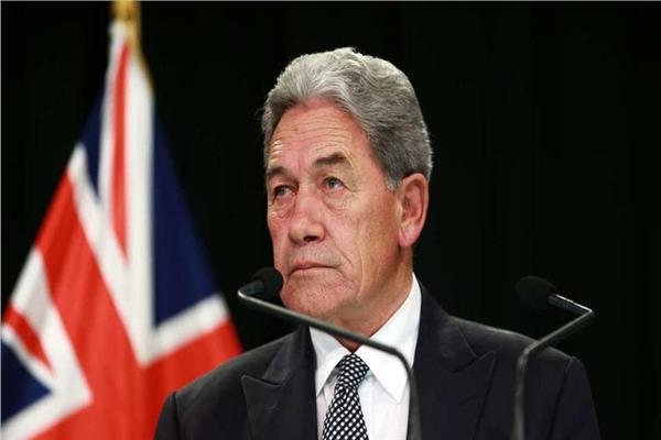وزير خارجية نيوزيلندا وينستون بيترز