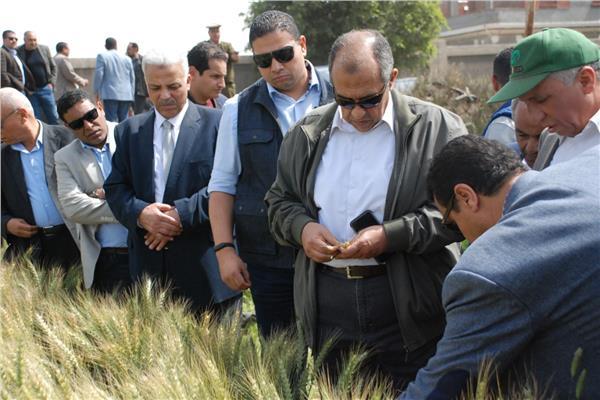 خلال جولة وزير الزراعة بمحافظة القليوبية اليوم