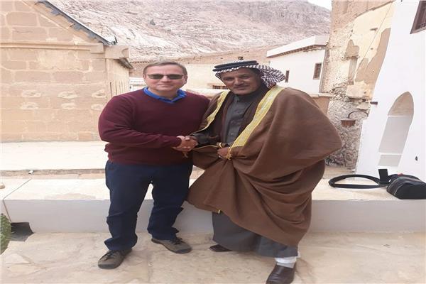 أبو راشد يستقيل السفير التشيكي بسانت كاترين