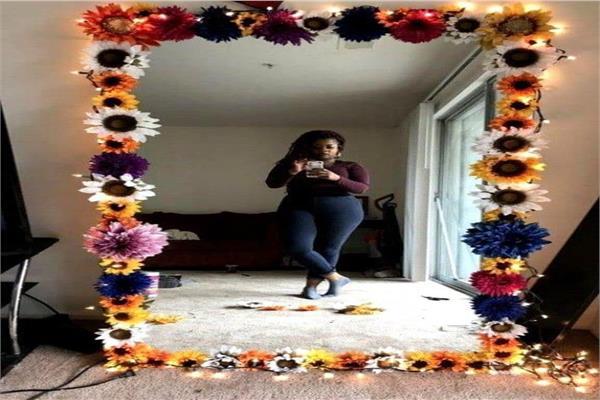 بالصور 4أفكار لتزين «مرآة غرفتك»