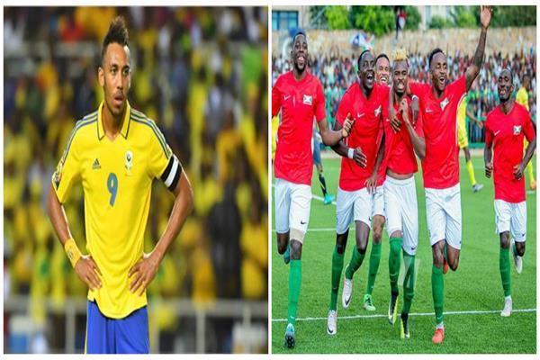 لاعبو بوروندي وأوباميانج