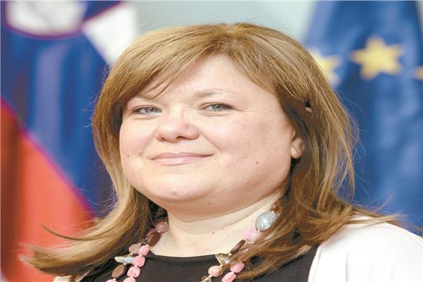 السفيرة السلوفينية فى مصر ماتيا بريفولشيك