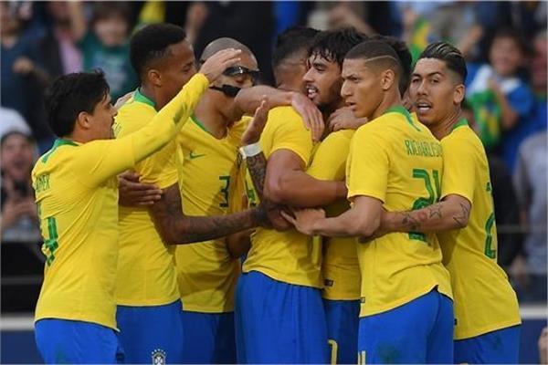 لاعبي البرازيل