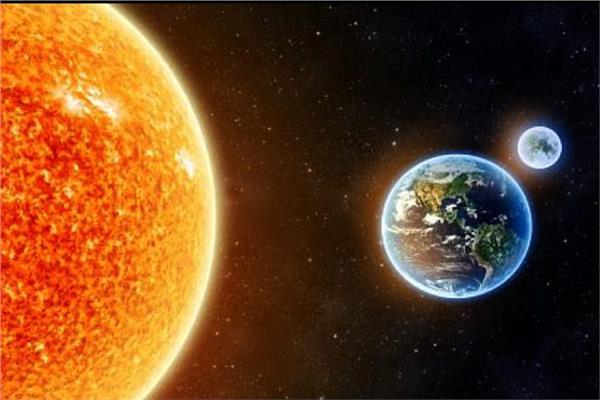 الأرض نسخة مطفأة من الشمس