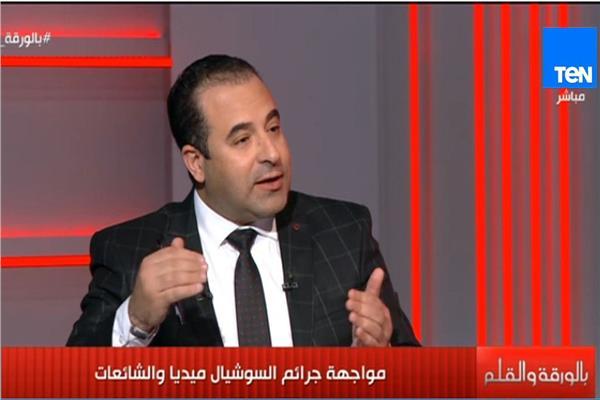النائب أحمد بدوي رئيس لجنة الاتصالات وتكنولوجيا بالبرلمان