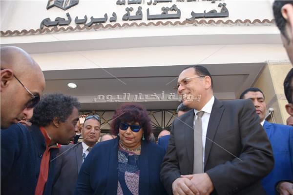 عبد الدايم وغراب يفتتحان 3 قصور ثقافة بالشرقية