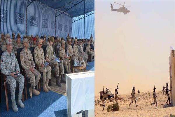 ختام التدريب المصري البريطاني «أحمس -1»